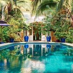 Pavilion, converted from four historic villas, is one of those hotels you walk into and instantly relax. Trees line the walkway to reception and as you turn the corner, a glorious pool surrounded by pavilions and a shaded restaurant and bar come into view. Tree Line, Phnom Penh, Walkway, Pavilion, Cambodia, Cool Furniture, Relax, House Design, Villas
