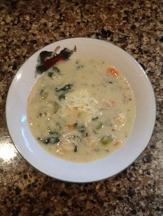 Homemade Chicken and Gnocchi soup #toriscookin