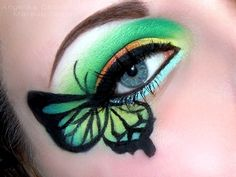 tropical butterfly http://www.makeupbee.com/look_tropical-butterfly_48944
