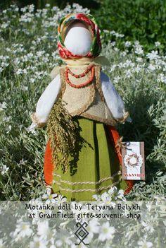 Poupée ukrainienne  Motanka  Ménagère  par GrainField sur Etsy, $80.00