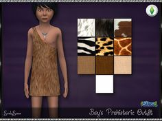 Boy's Prehistoric Outfit | SrslySims