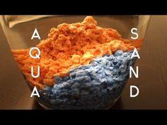 AQUA SAND, MAGIC SAND, WASSERABWEISENDEN SAND SELBER MACHEN - DIY - YouTube