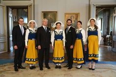 Swedish Royal Family on National Day 2015