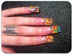 Gumball nails!