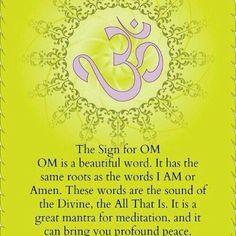 love peace meditation spirituality mantra Spiritual om Divine Namaste