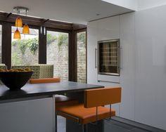 Modern Kitchen - Retro Accents