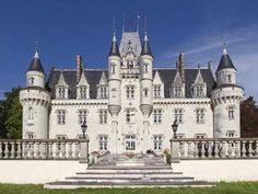 French property, houses and homes for sale in POITIERS Vienne Poitou_Charentes France by the French estate agents Beautiful Castles, Beautiful Buildings, Poitou Charentes France, French Castles, French Architecture, Interior Architecture, Fantasy Castle, Castle House, French Property