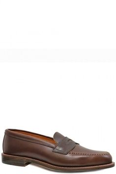 Alden Shoes - Unlined Leisure Hand Sewn Brown Chromexel 17831F,