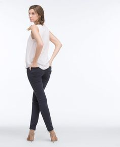Silk Crepe Sku# Item Details Cut from silk crêpe with a casual silhouette, this true-white tank features a V-inset crew collar for an effortlessly versatile vibe. People Cutout, Cut Out People, People Crowd, People Png, Photoshop Elements, Silk Crepe, White Tank, Designs To Draw, Warm Weather
