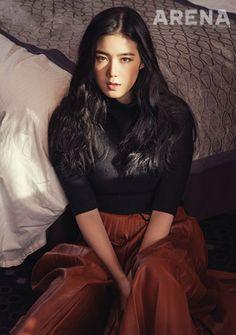 ARENA HOMME PLUS, 2013.12, Jung Eun Chae Korean Beauty, Asian Beauty, Girls With Black Hair, Vogue Korea, French Chic, Korean Actresses, Girl Crushes, Woman Crush, High Fashion