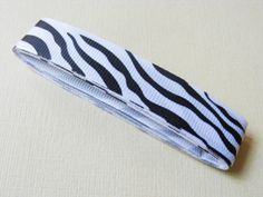 Ribbon with zebra print