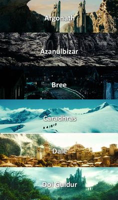 I was always so happy that I have the (almost) same name as a place in middle earth :D