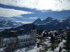 Gruyères (Switzerland) on a snowy Sunday in March. http://ift.tt/2oRMwc2