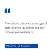"""""""The scientist discovers a new type of material or energy and the engineer discovers a new use for it."""" - Gordon Lindsay Glegg Tech Quotes, Engineering, Technology, Type, Tech, Tecnologia"""