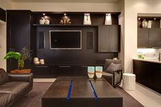 Entertainment wall ideas entertainment wall ideas home entertainment center ideas entertainment wall unit plans home theater Custom Entertainment Center, Built In Entertainment Center, Entertainment Room, Entertainment System, Look Street Style, Layout, Contemporary Area Rugs, Home Goods, Family Room