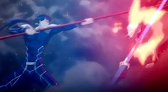 Archer vs Lancer - Fate/stay Night: Unlimited Blade Works