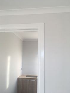 Dulux bleaches quarter walls and lexicon half skirting and ceiling
