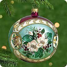 Collectible glass Christmas tree ornaments express the richness of the season in vivid or soft colors. These are the artists version of the plain...