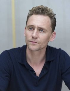 Tom in the new blue shirt