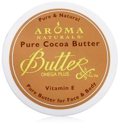 Aroma Naturals Pure Body Butter, Cocoa, 3.3 Ounce *** Hurry! Check out this great product : Skin care