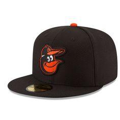 buy popular cae80 08d7b Men s New Era Black Baltimore Orioles Game Diamond Era 59FIFTY Fitted Hat