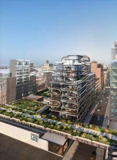 High Line Nine galleries to surround Zaha Hadid's New York condos