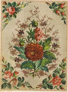 Prelepa šema sa motivom cveća.