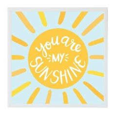 Petal Lane Magnet Board - Alexa You Are My Sunshine - White Frame - Vinyl Board, Magnet Boards, Happy Easter Sunday, New Home Wishes, Felt Banner, Easter Projects, You Are My Sunshine, Hello Sunshine, Porch Signs