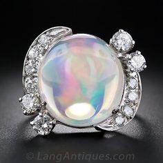 Mexican Jelly Opal ring
