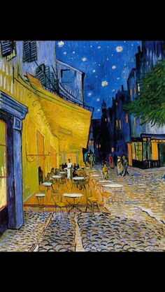 Caffeterras bij nacht Place du Forum, 1888
