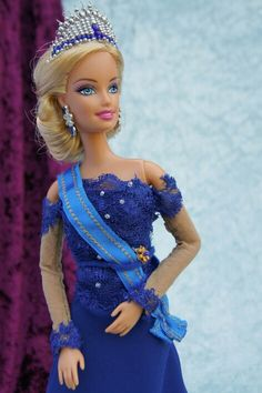 Barbie als Maxima op 30 april 2013 http://barbie.gabrielle-art.nl/#!home