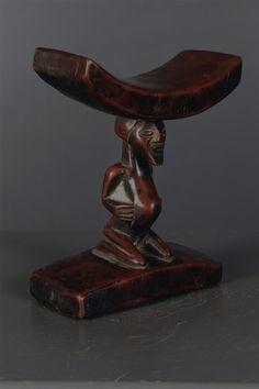Songye Headrest, DRC