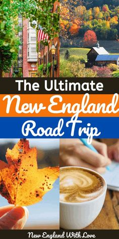 Six beautiful states. One amazing road trip. This mega New England road trip itinerary will help you visit all of the top spots throughout the region. New England States, New England Fall, New England Travel, East Coast Travel, East Coast Road Trip, Road Trip Usa, Road Trip Destinations, Road Trip Hacks, Travel Usa