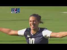 Football Women's Group G - United States v France Full Replay -- London ...  one goal for abby, 2 goals for alex morgan and one goal for LIoyd