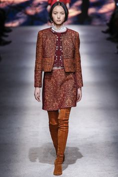 Alberta Ferretti Fall 2015 RTW Runway - Vogue