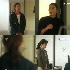 Hye Won kaget. Di kantornya sudah berdiri Da Mi yang datang untuk membahas masalah Lee Sun Jae.