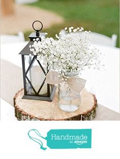 Rustic Wedding Centerpiece - Round Tree Bark Slice - Rustic Wood Tree Trunk Slices - Natural Wood Slice - Tree Slice Cake Stand from Country Barn Babe https://www.amazon.com/dp/B015QBO8YG/ref=hnd_sw_r_pi_dp_DxkdzbHJZZ8SV #handmadeatamazon