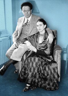 Frida Kahlo and Diego Rivera | Flickr - Photo Sharing!