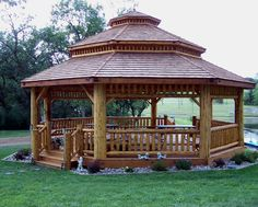 gazebo......would just change a couple of things but I love it and God willing, want it for my next home