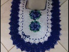 Jogo de Banheiro em Crochê -Tapete do Vaso com Cristina Coelho Alves - YouTube