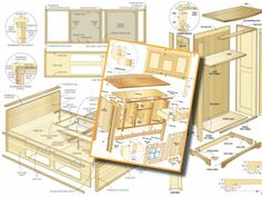 Get 50 free woodworking plans and download over 16,000 other high quality wood projects at ...