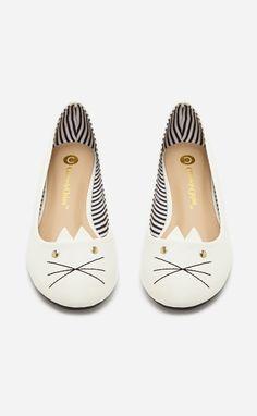 Kitty Ballet Flat