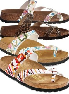 Buy Birkenstock Papillio Tabora + All Colours + All Sizes + Exclusive Voucher Codes. Sale prices on Full 2020 range of Women's Birkenstock Sandals. All The Shoes - The UK's best footwear prices. Toe Loop Sandals, Cute Sandals, Cute Shoes, Birkenstock Sandals, Birkenstock Mayari, Mexican Shoes, Things To Buy, Stuff To Buy, Cheetah Print