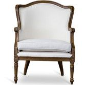 Found it at Wayfair - Baxton Studio Charlemagne Traditional French Arm Chair