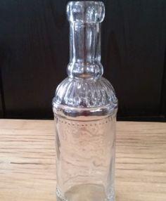 Flasche Glas klar Vase, Cocktail Shaker, Barware, Home Decor, Flasks, Dekoration, Decoration Home, Room Decor, Vases