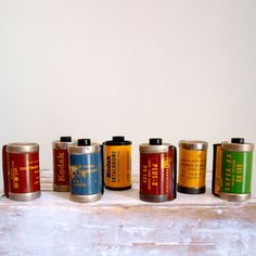 35mm Film Roll Collection now featured on Fab.