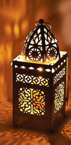 -   Farol marroquí celosía árabe, ref:50