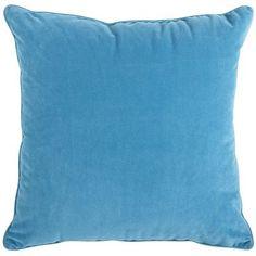 Oversized Plush Pillow - Teal