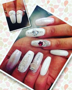 White and jewel🎀💗💝  Your Beauty Artist  🌬xaly❄️