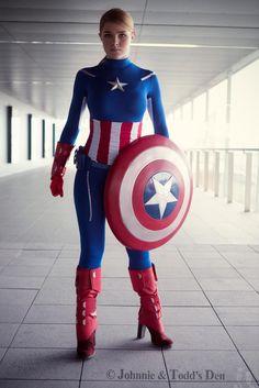Cosplay Captain America Marvel